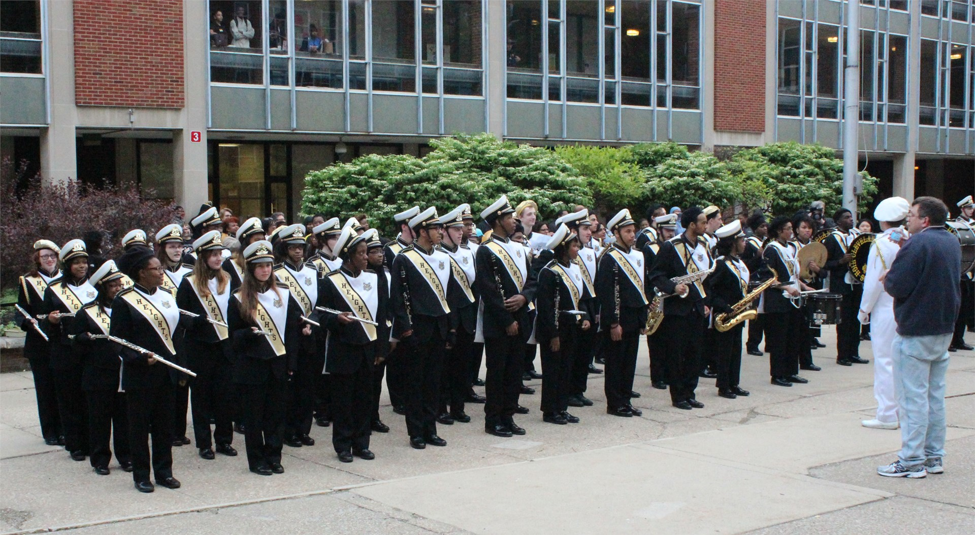 The Almighty Heights High Marching Band