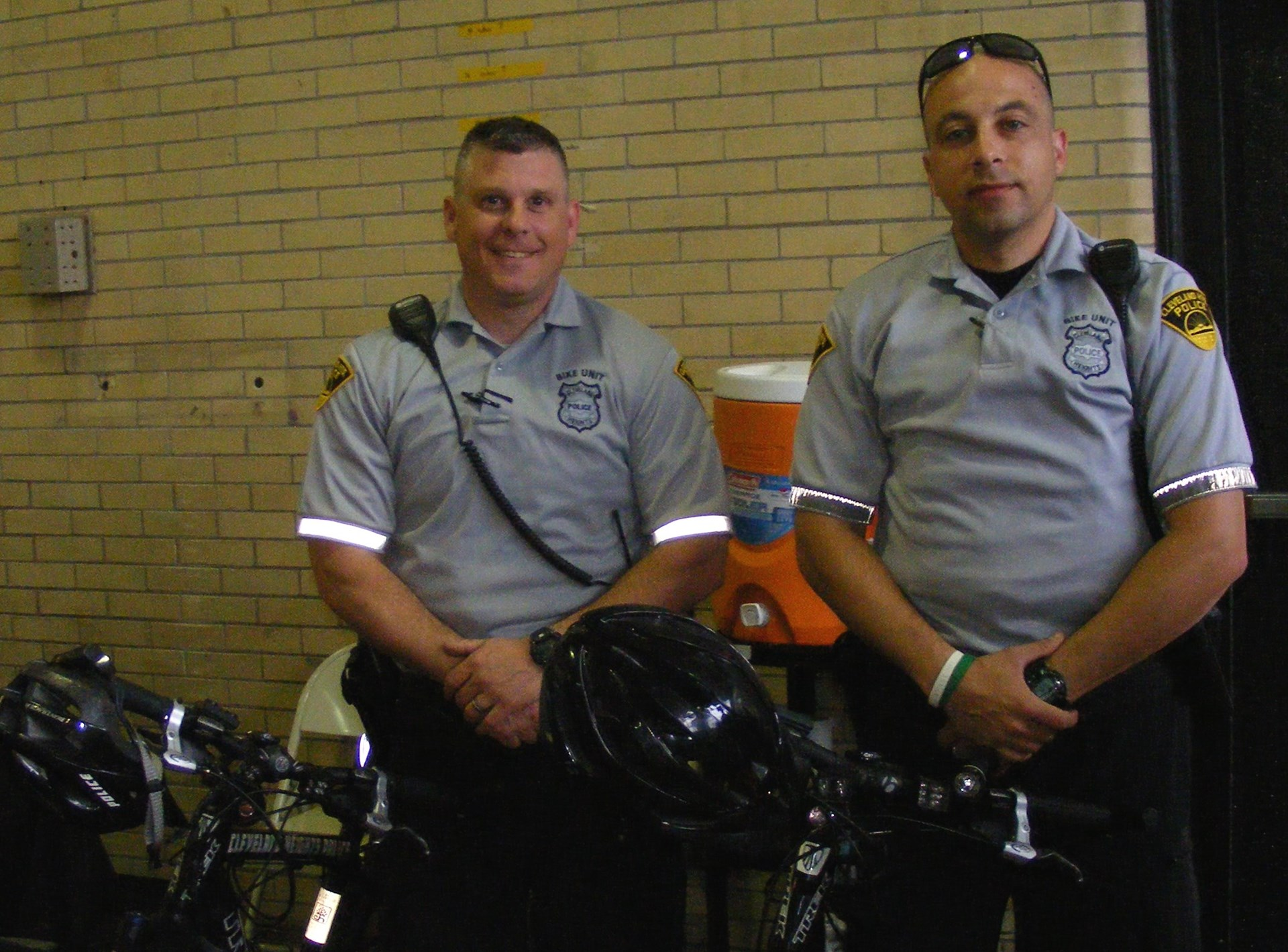 Cleveland Heights Bike Officers