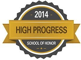 Canterbury Celebrates High Progress School of Honor Recognition