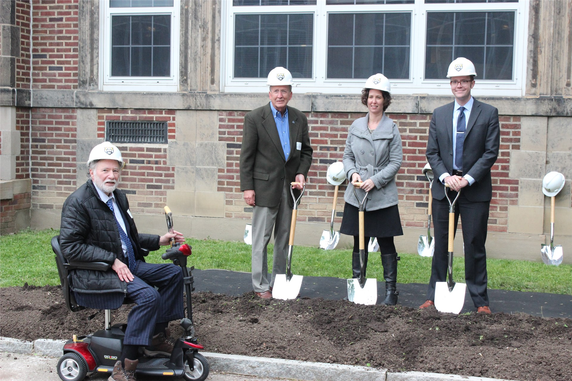 Facilities Accountability Committee Members Attend Heights High Farewell & Groundbreaking Ceremony