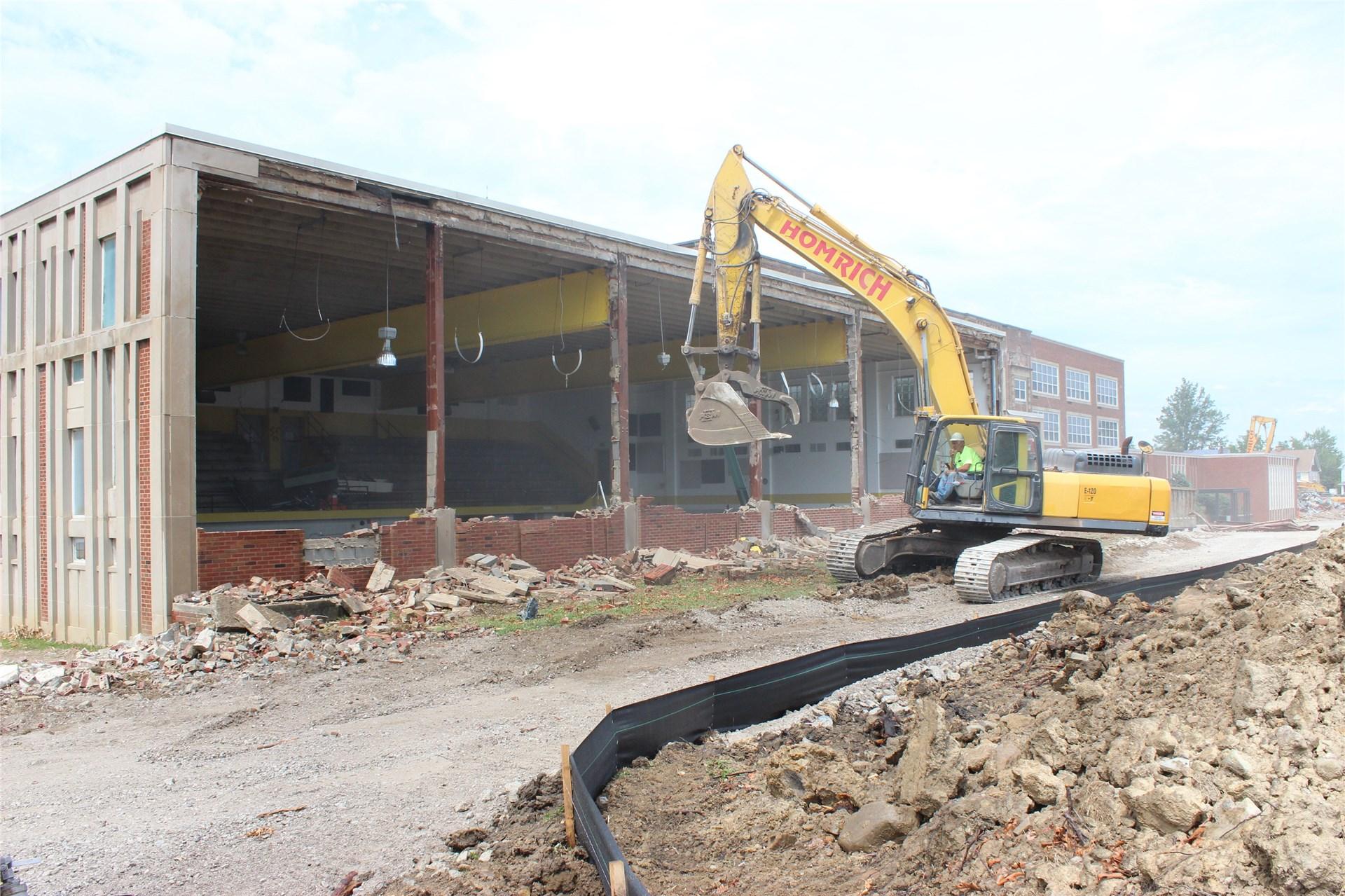 Demolition August 14