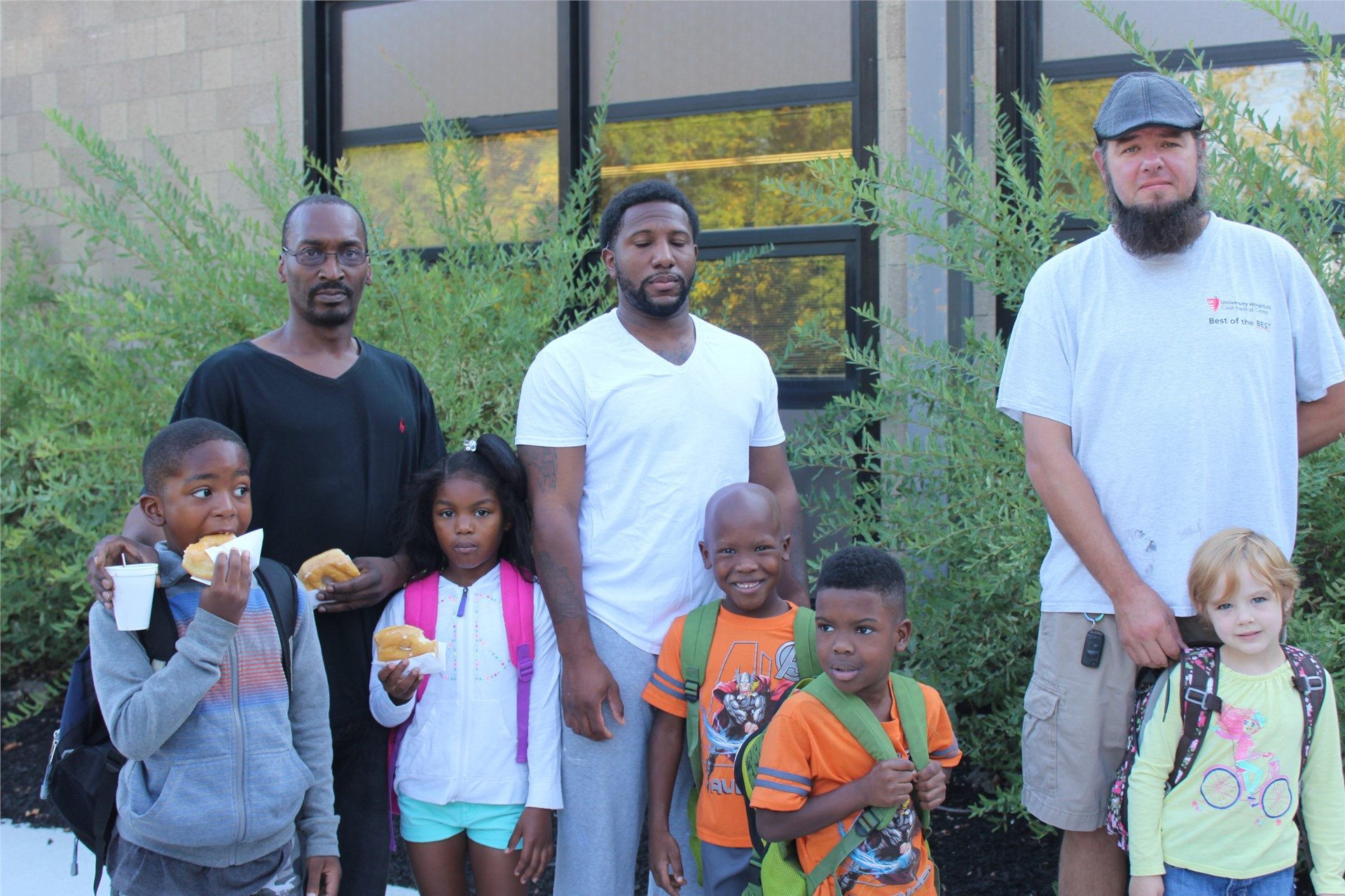Dudes and Dads participate in County Father Walk