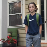 First Day of School August 31, 2015