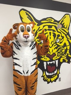 New Tiger Mascot Visit