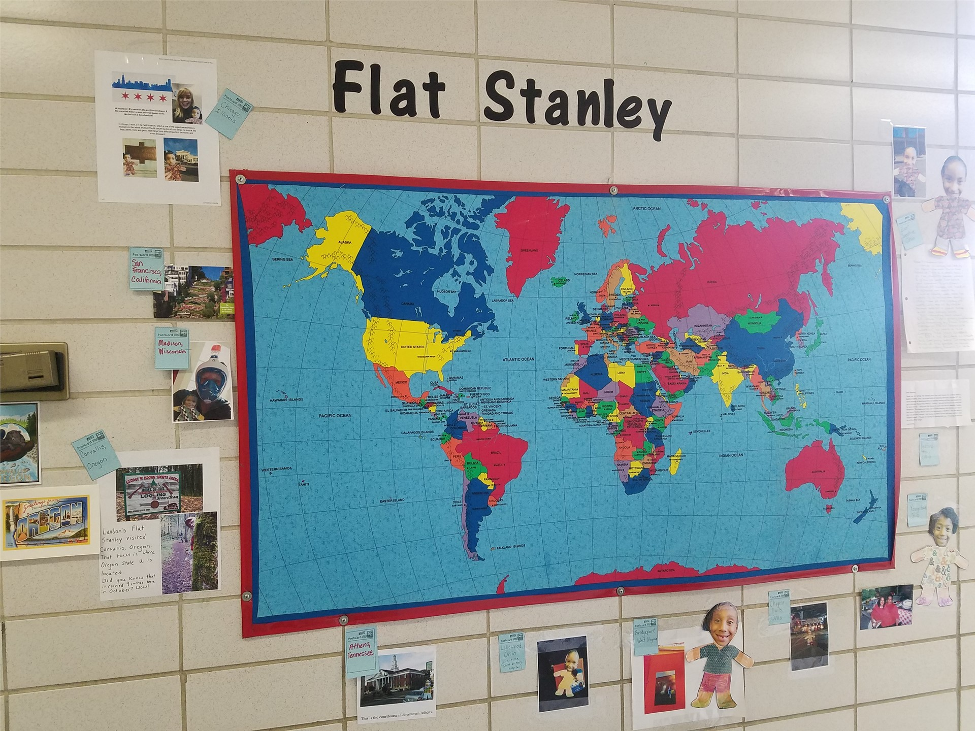 Flat Stanleys are returning to Canterbury! Ask a 1st grader for details.