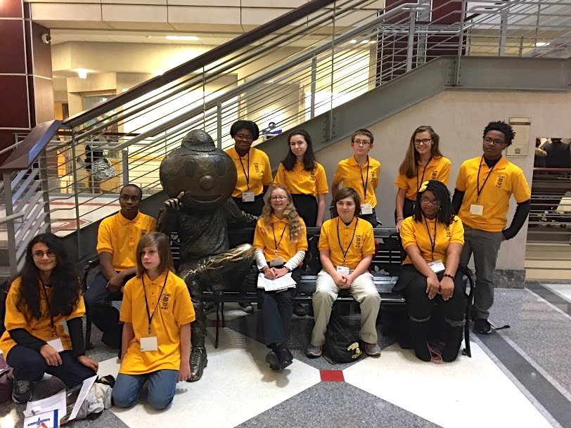 NJHS Members Attend Leadership Seminar at OSU