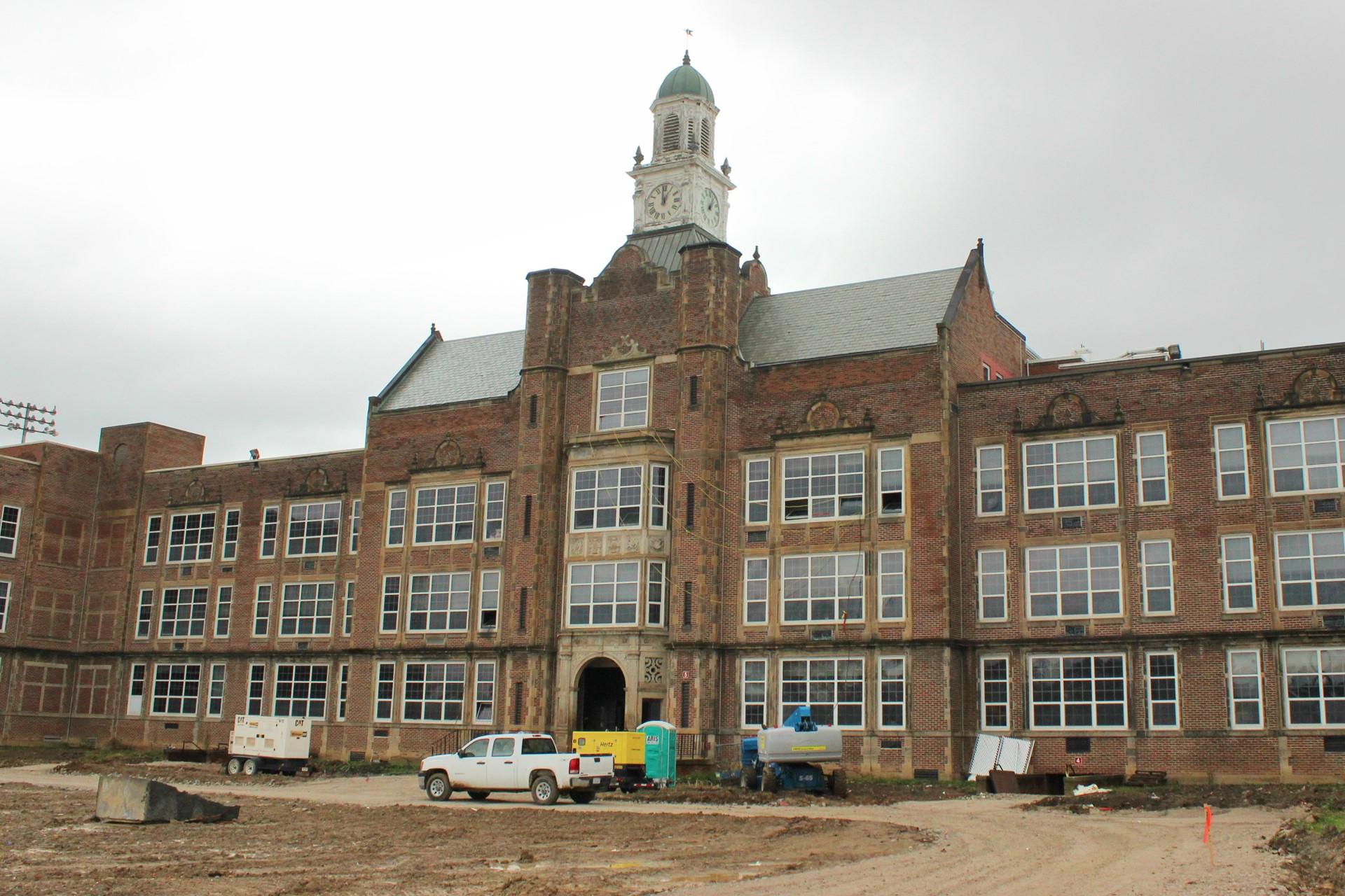 Heights High Construction Progress - October 2015