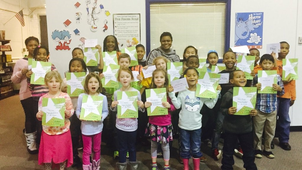 Noble Celebrates Students of the Month with a Luncheon and Awards