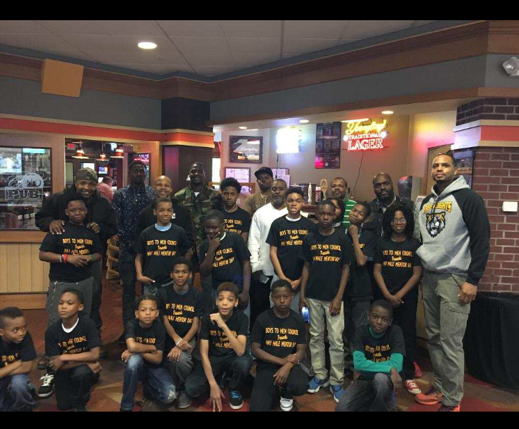 Mr. Dixon's Boys to Men Group go bowling at Freeway Lanes (The Hall of Famer's)