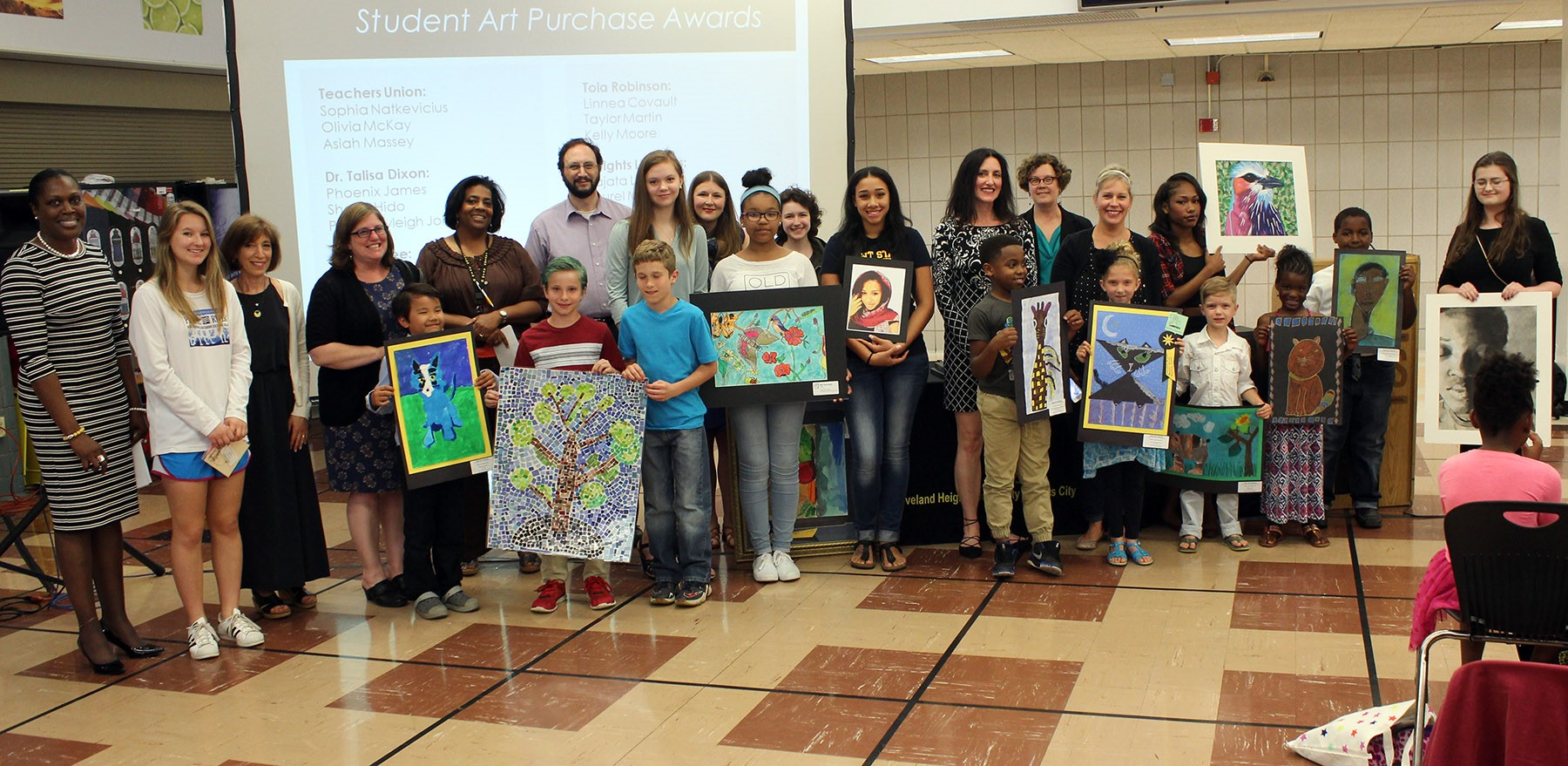 Art purchase awards