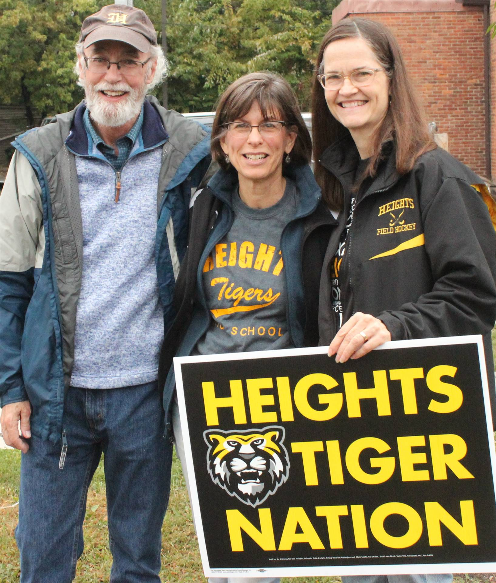 Reaching Heights Ex. Dir, Krista Hawthorne (R) and board members