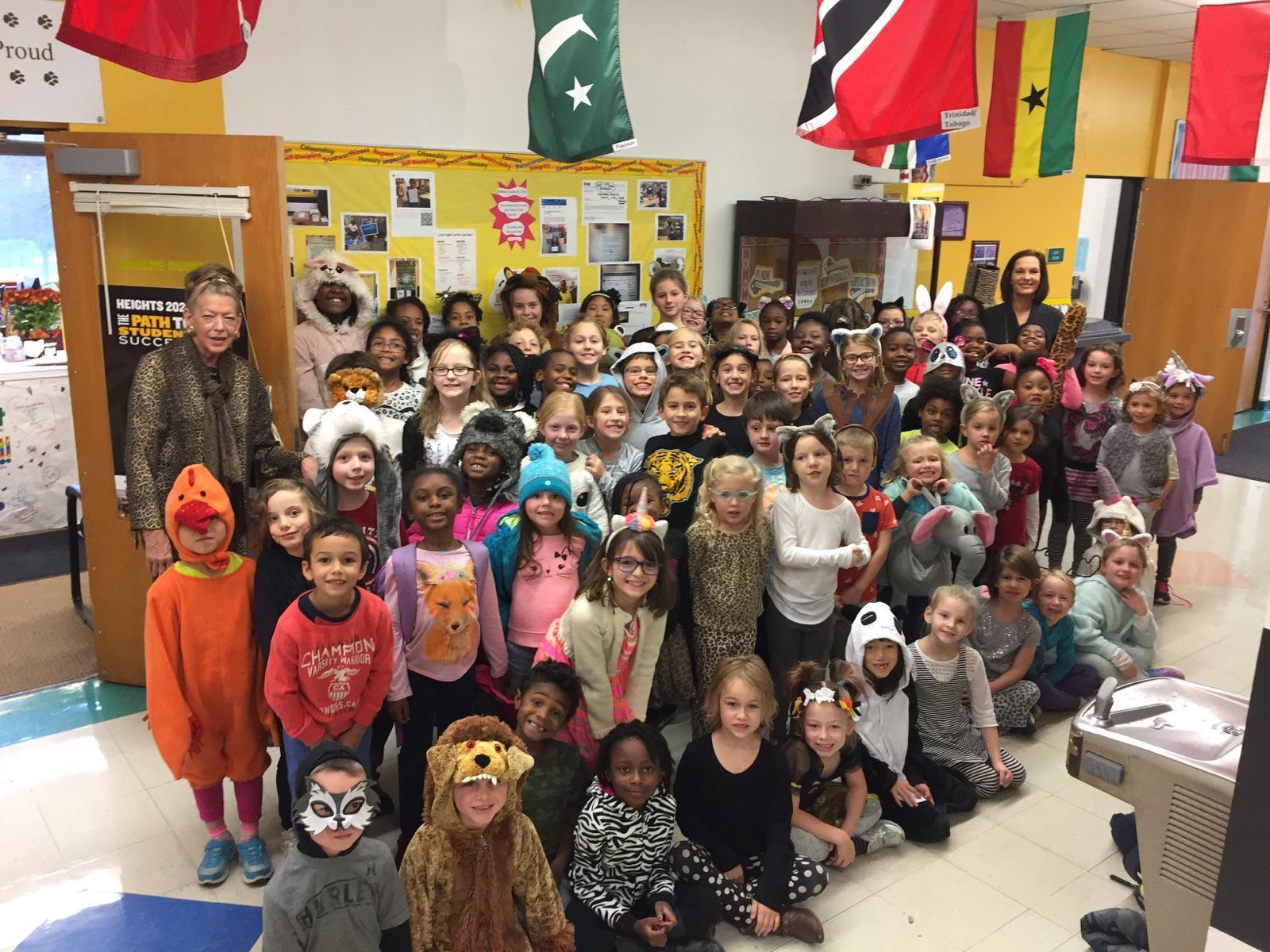 Spirit Day during International Education Week
