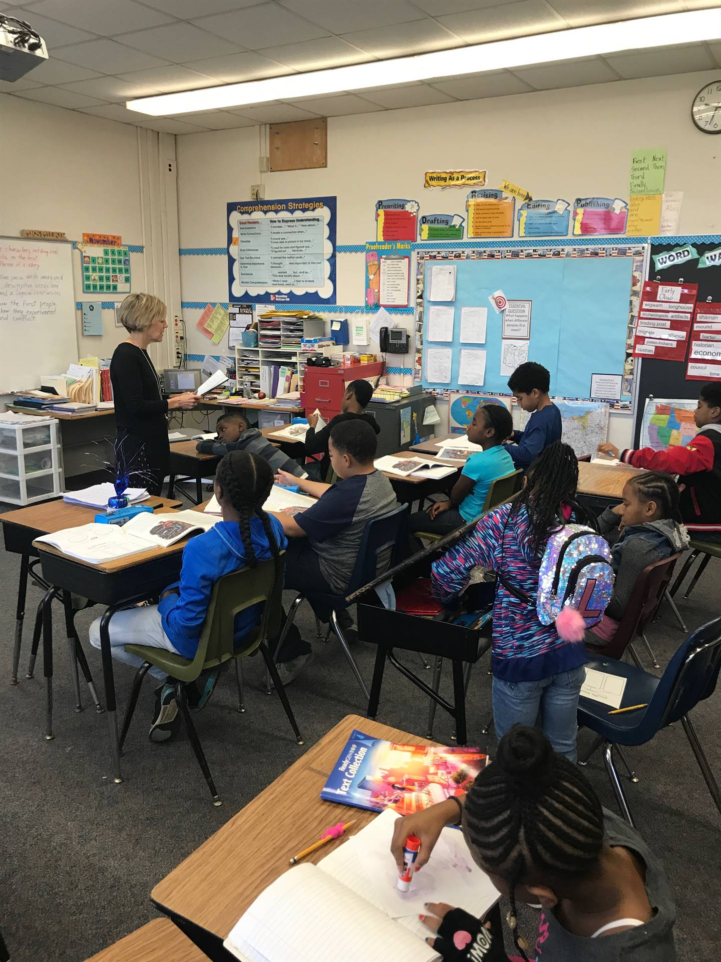 Climactic Storytelling in 4th grade