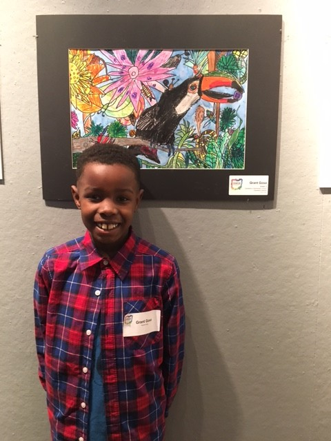 Ohio Art Education Association Youth Art Month exhibition hosted by CWRU.