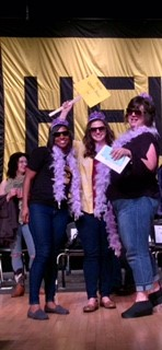 Noble All Teachers Spelling Bee Team 'Queen Bees'