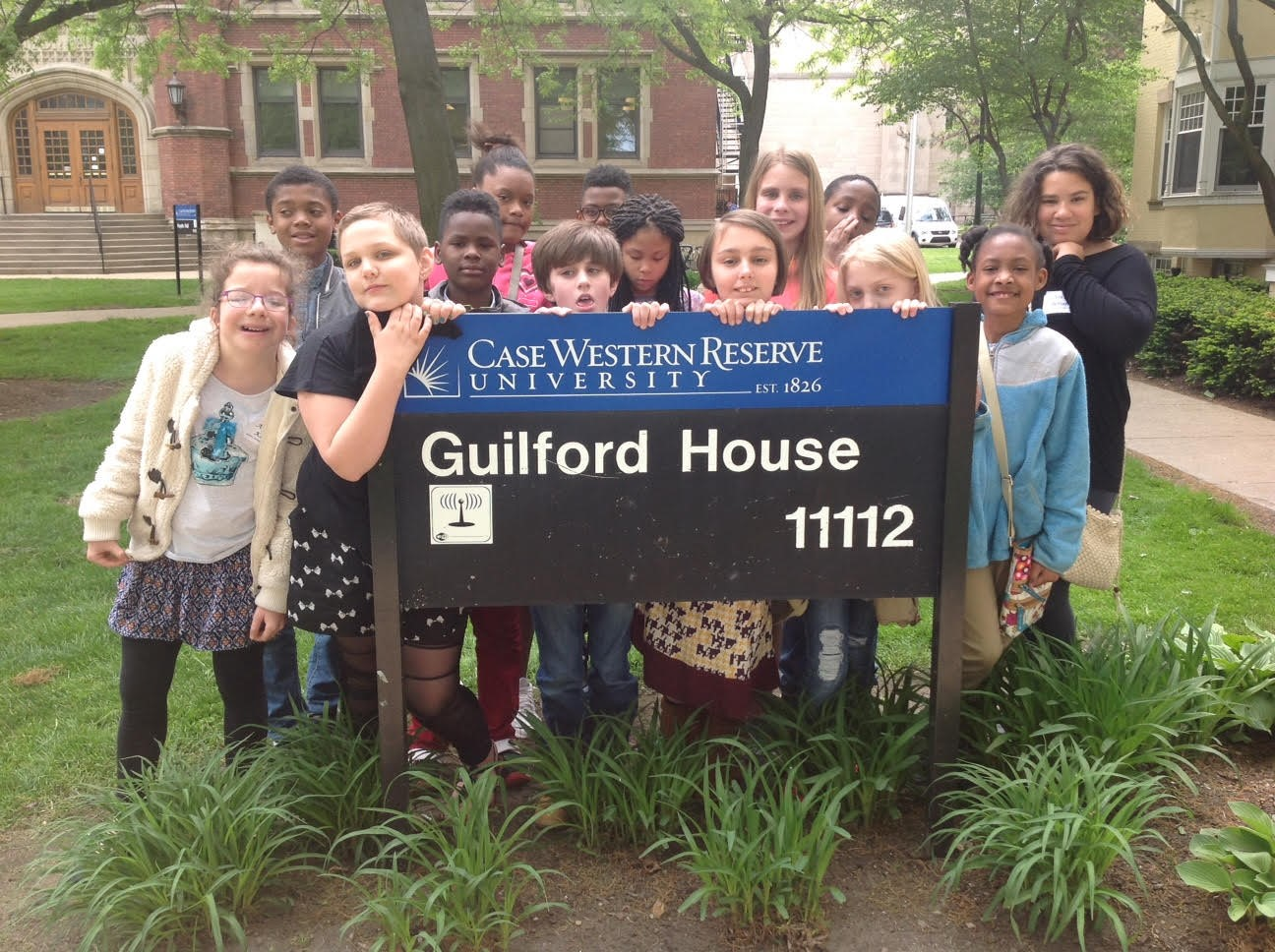 5th Grade Students spend a day at Case Western Reserve Univ.