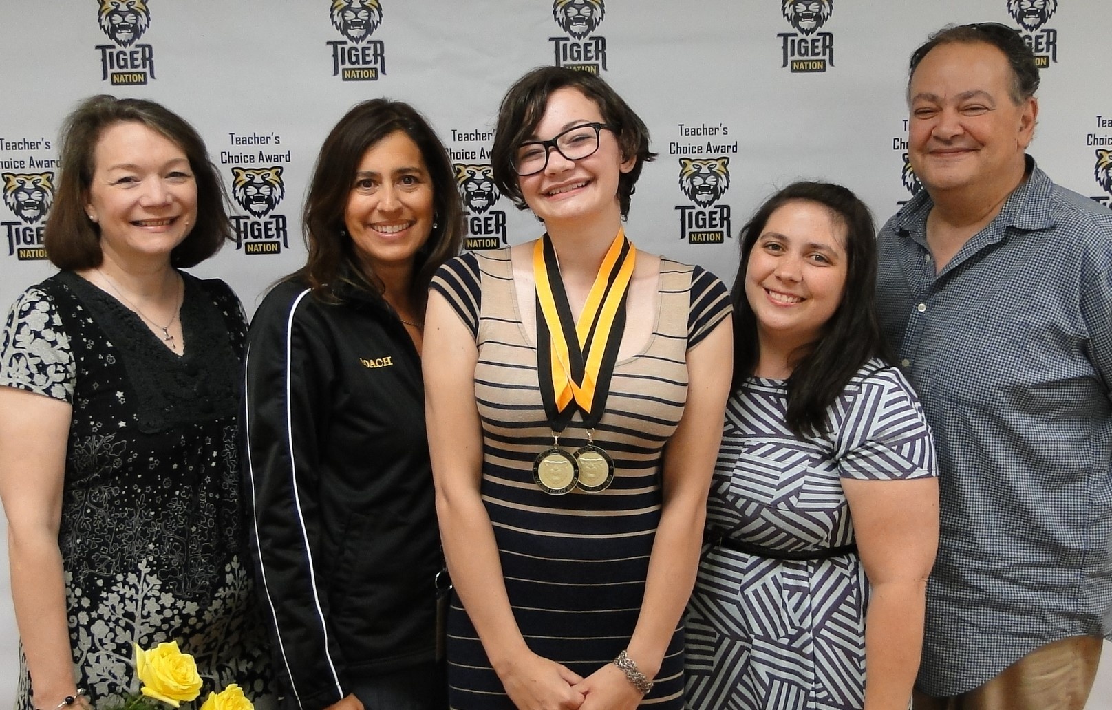 Gilda Weinstock recognized by Mrs. McDonald & Ms. Eisenberg