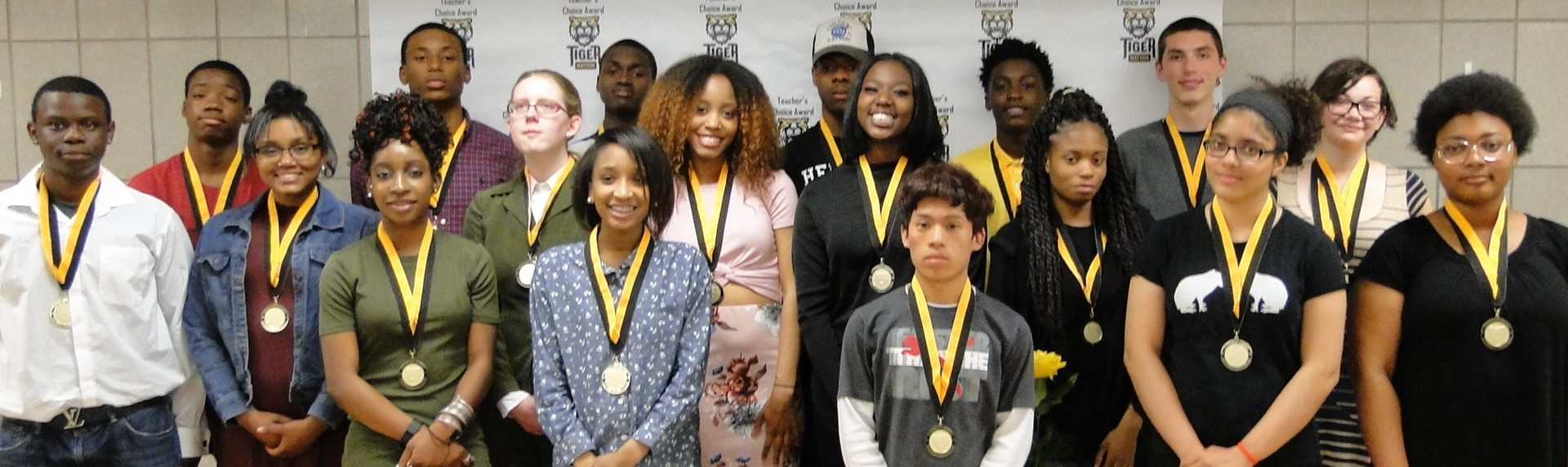 Teacher's Choice Award recipients