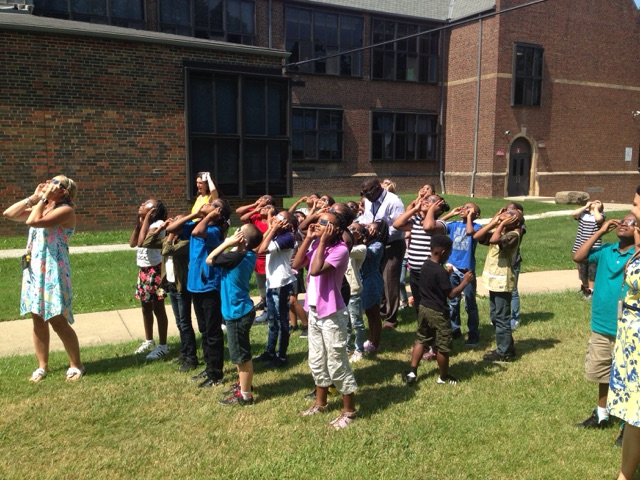 4th Grade and the Great American Eclipse