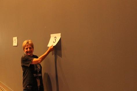 Assistant Principal Jane Simeri's team places third.