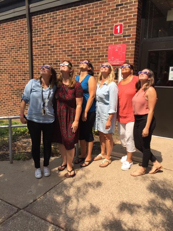 2017 Solor Eclipse on the 1st day of school.