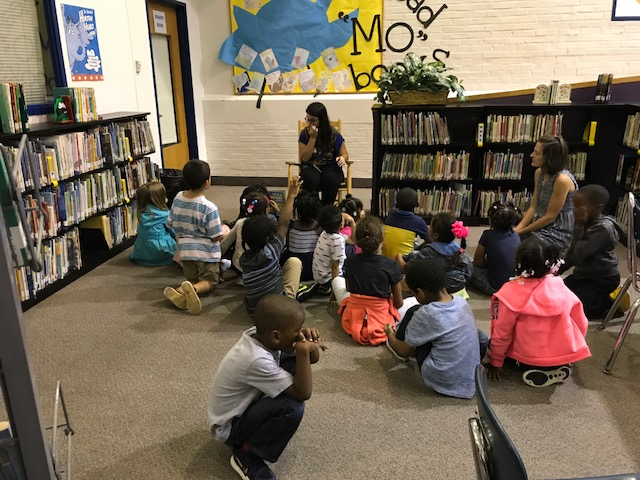 Noble Neighborhood Librarian Visits