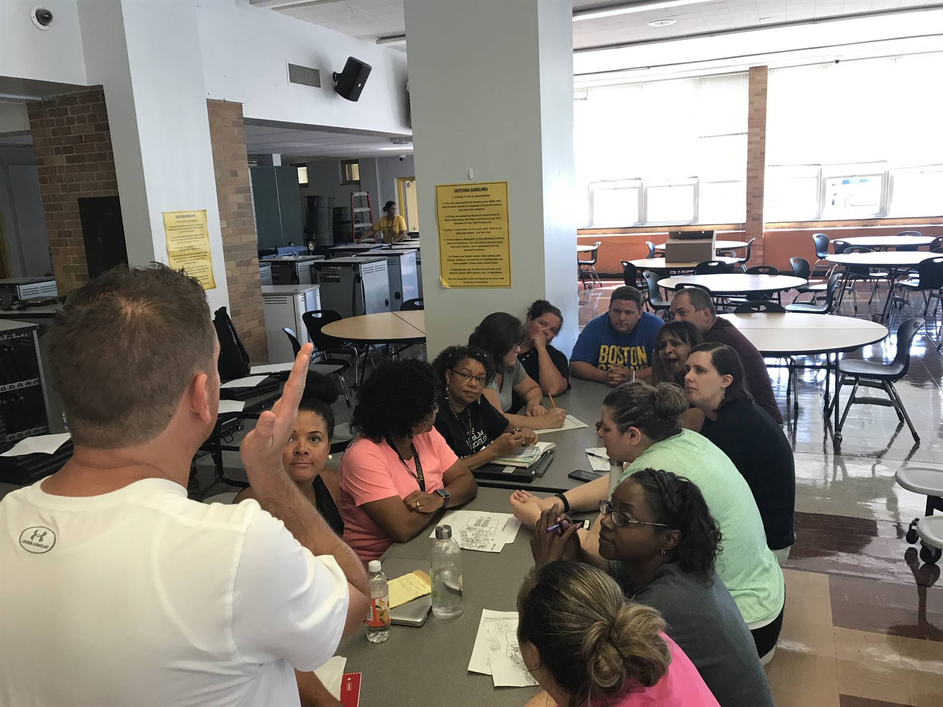 New Teacher Teams Get Acquainted