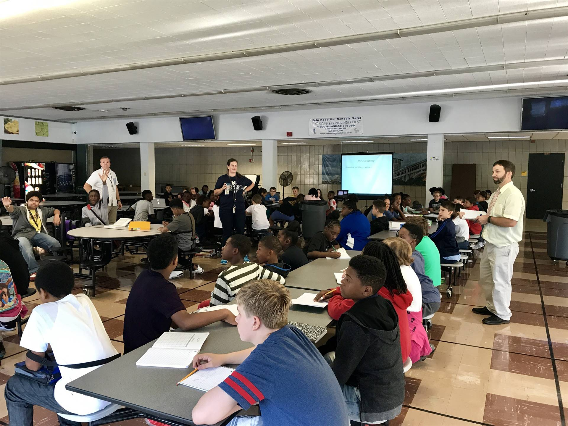 All 6th Grade students learn about Viruses