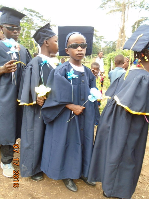 Promotion Day at the Dougbe River Presbyterian School