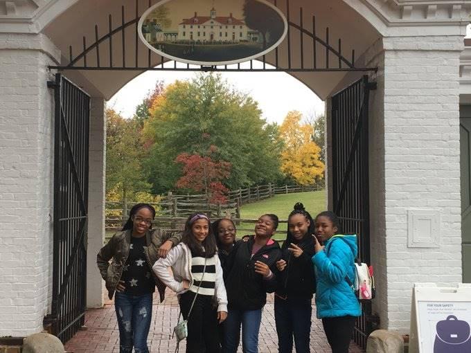 8th Grade Students in Washington DC