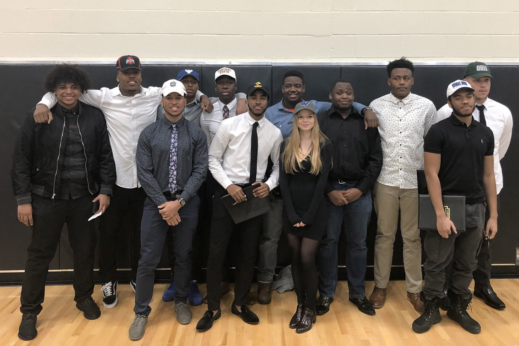 Heights High student-athletes who signed letters of intent
