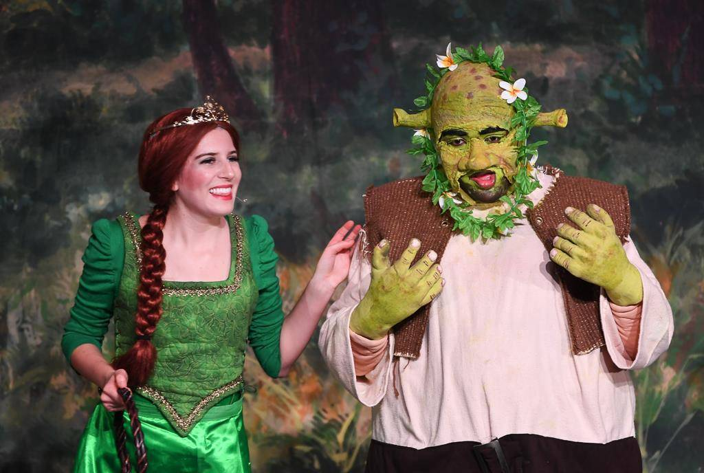 Heights High fall musical Shrek
