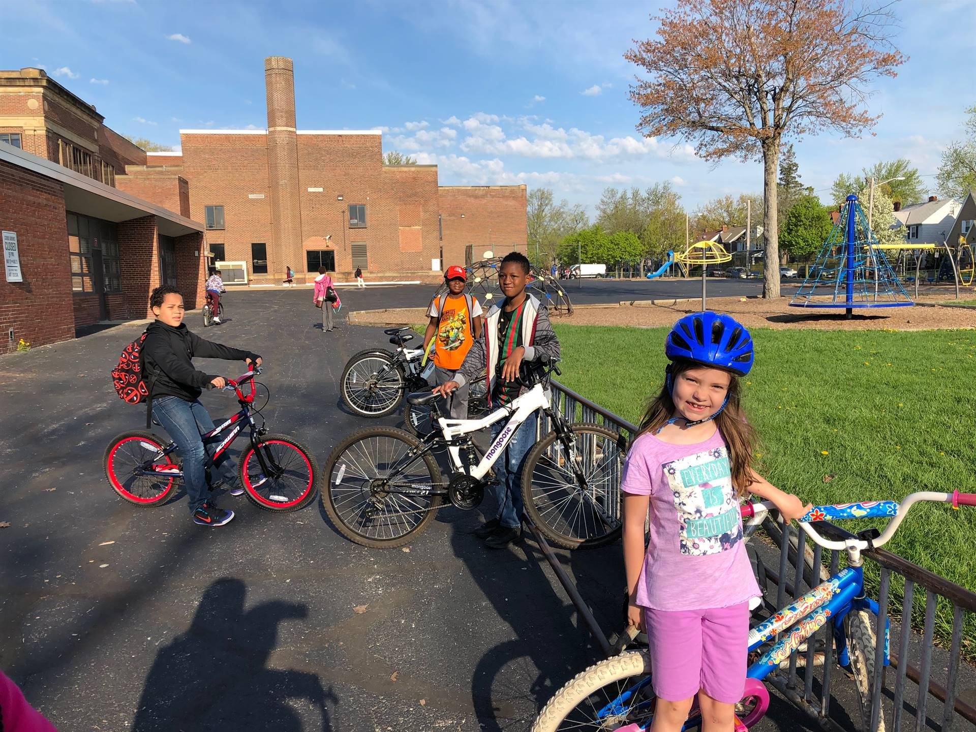 Molly Bike to School Day 2018