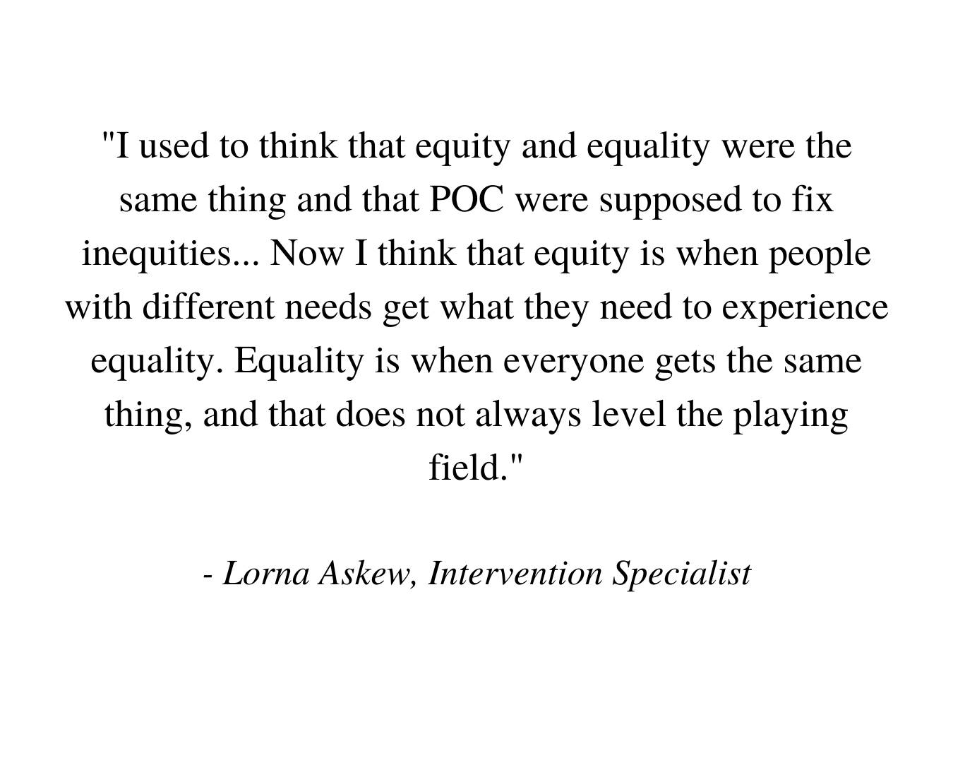 Equity Task Force