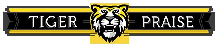 Tiger Praise banner